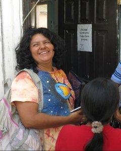 Fotografía cedida por Amnistía  Internacional de la líder indígena Berta Cáceres, asesinada el jueves en Honduras. EFE