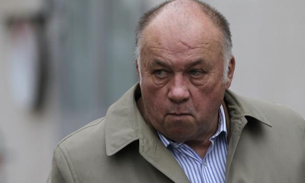 Dominique Alderweireld, also known as 'Dodo the pimp', arrives at court.