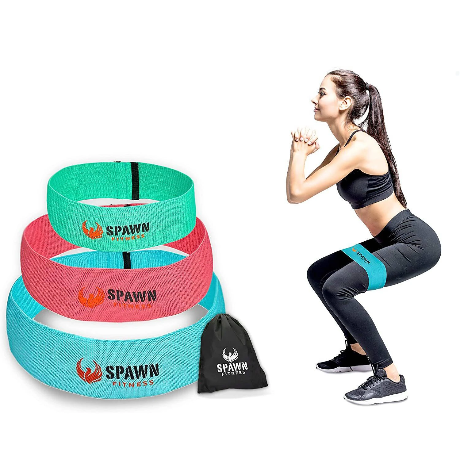 Spawn Fitness Resistance Bands are also fabric bands made of elasticized cottons for beginners and intermediates that comes in a set of 3