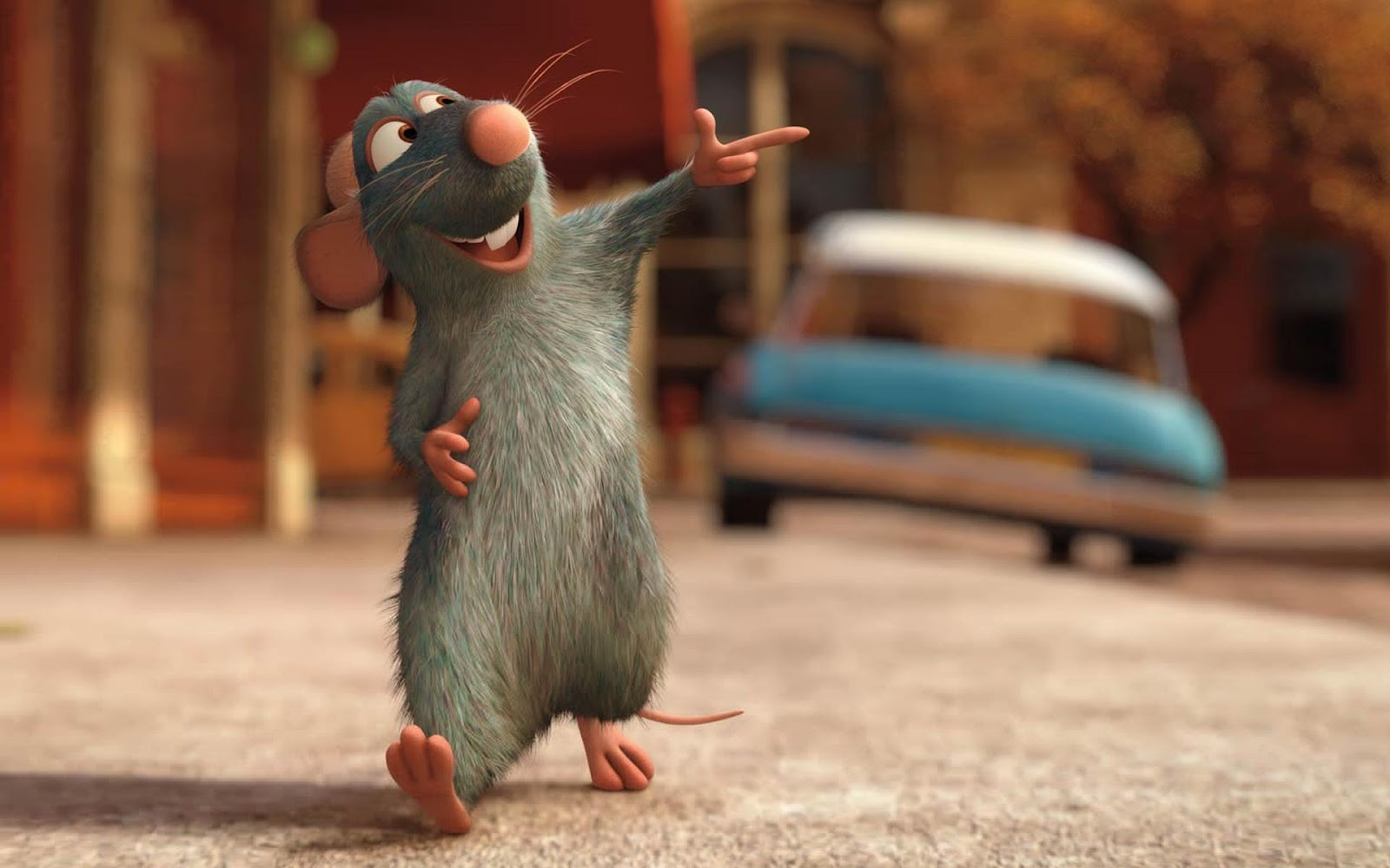 Известная крыса-Рататуй