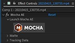 Track With Mocha AE