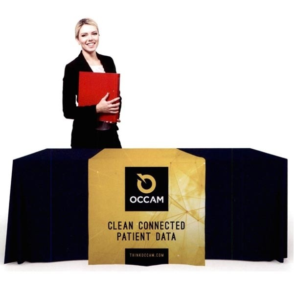 trade show booth table cover