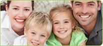 Amil Dental imagem com família