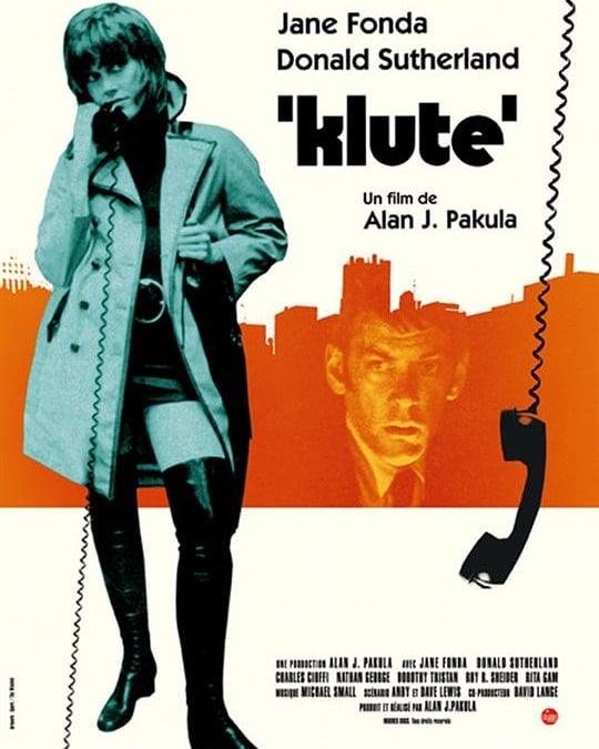 Klute (1971, Alan J. Pakula)