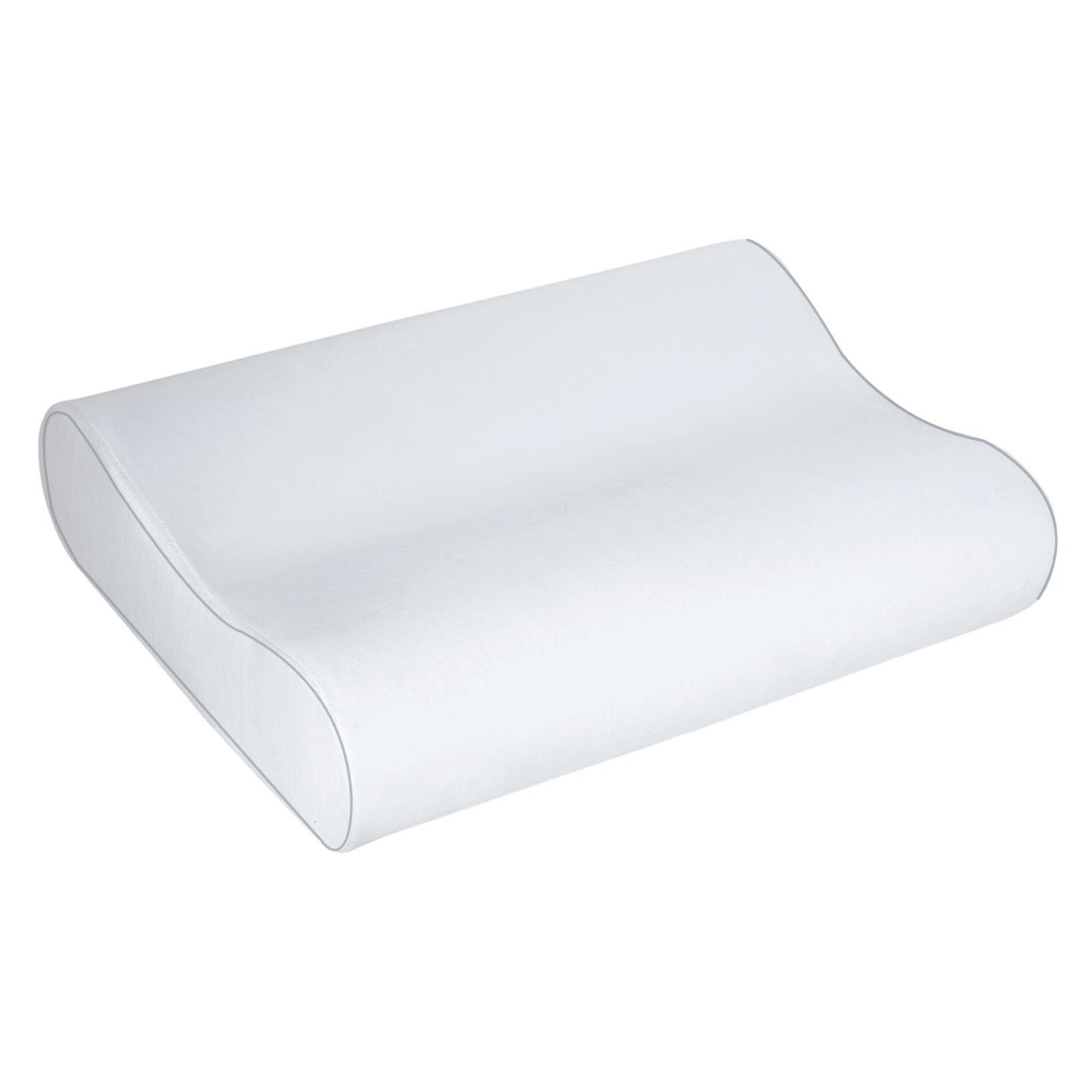 Image result for sleep innovations contour memory foam pillow