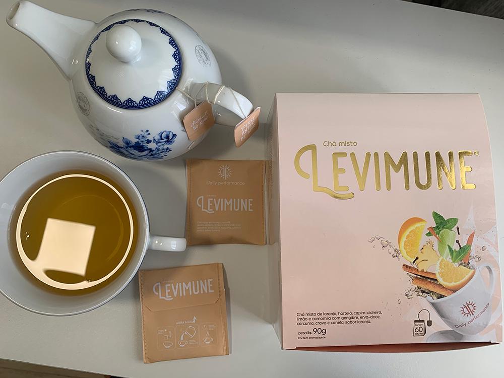 chá levimune emagrece