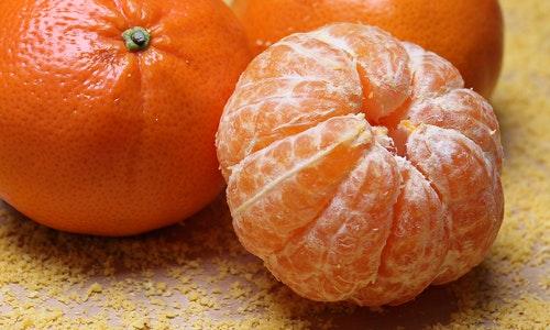 Fresh seasonal fruit is always found on an Italian breakfast table.