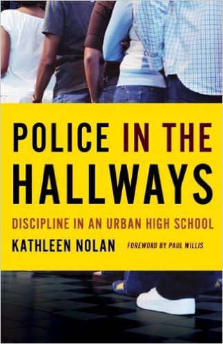 As zero-tolerance discipline policies have been instituted at high schools across the country, police officers are employed with increasing frequency to enforce behavior codes and maintain order, primarily at poorly performing, racially segregated urban schools. Actions that may once have sent students to the detention hall or resulted in their suspension may now introduce them to the criminal justice system. In Police in the Hallways, Kathleen Nolan explores the impact of policing and punitive disciplinary policies on the students and their educational experience.