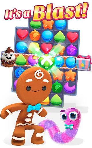 Cookie Jam Blast - Match & Crush Puzzle- screenshot thumbnail