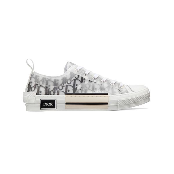 Đơn giản nhưng không hề đơn điệu chính là đôi giày mang tên Dior B23 low