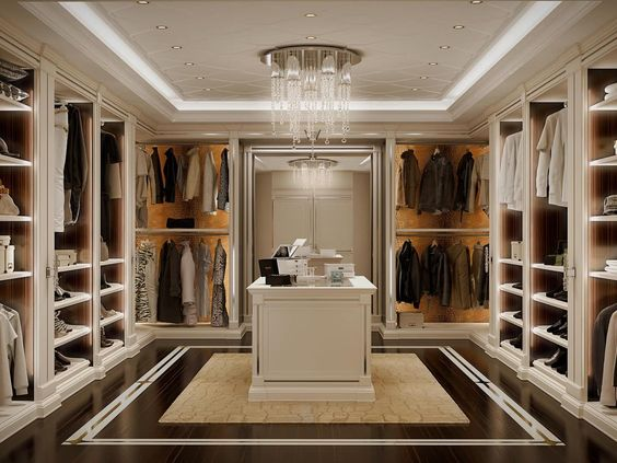 His and Hers Walk-in Closet Ideas