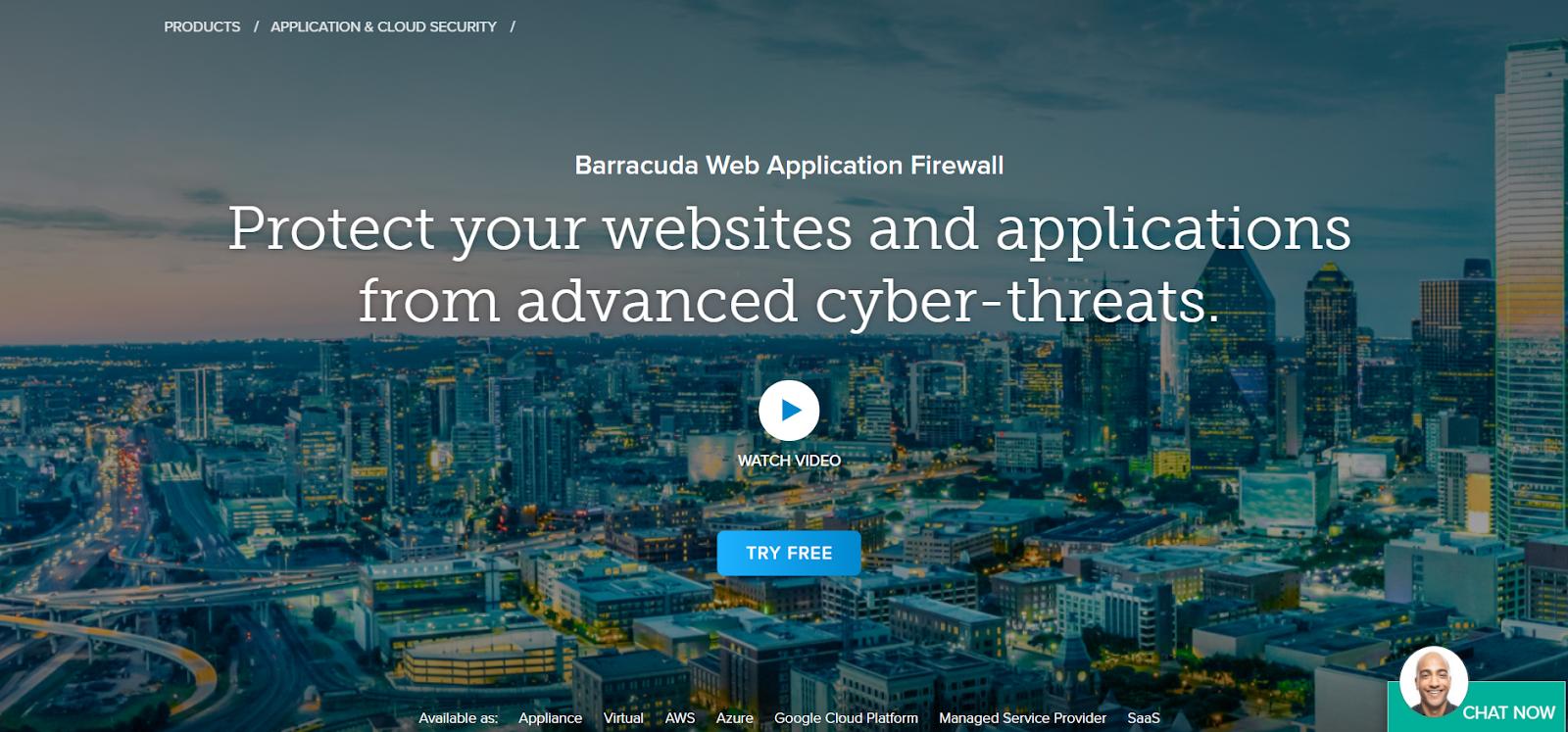 Barracuda is a Web Application Firewall Application