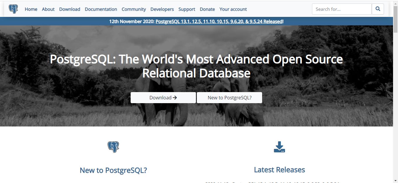 PostgreSQL is a Database Management Software