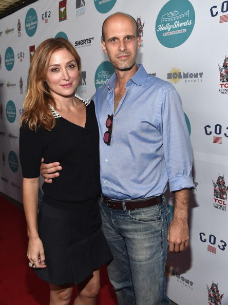 HOLLYWOOD, CA - AUGUST 14:  Actress Sasha Alexander and Filmmaker Eduardo Ponti attend the Hollyshorts 10th Anniversary Opening Night at The TCL Chinese Theatres on August 14, 2014 in Hollywood, California.  (Photo by Alberto E. Rodriguez/Getty Images)