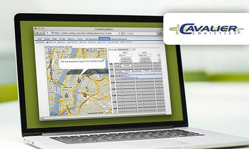 CRM система для компании Cavalier Logistics