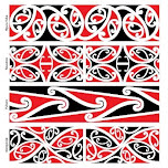 Use kowhaiwhai patterns to make Maori culture visible in your centre |  Maori patterns, Maori designs, Maori art