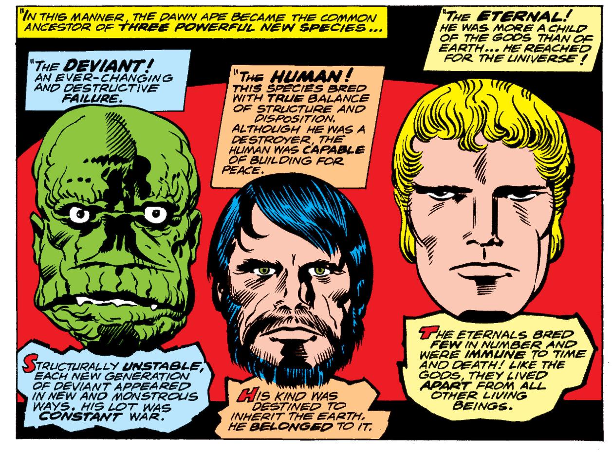 Marvel's Eternals Movie Villains: The Deviants Explained - IGN
