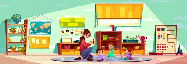 Giáo viên Montessori luôn là người chủ động trong mọi hoàn cảnh