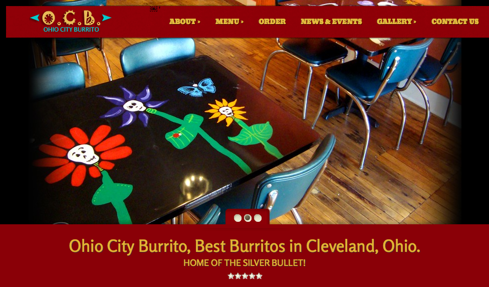 Ohio City Burrito Homepage