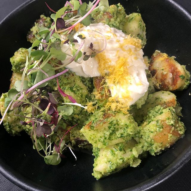 Photo shared by LaLa's at The Standard on September 11, 2020 tagging @chefallielyttle. Image may contain: food.