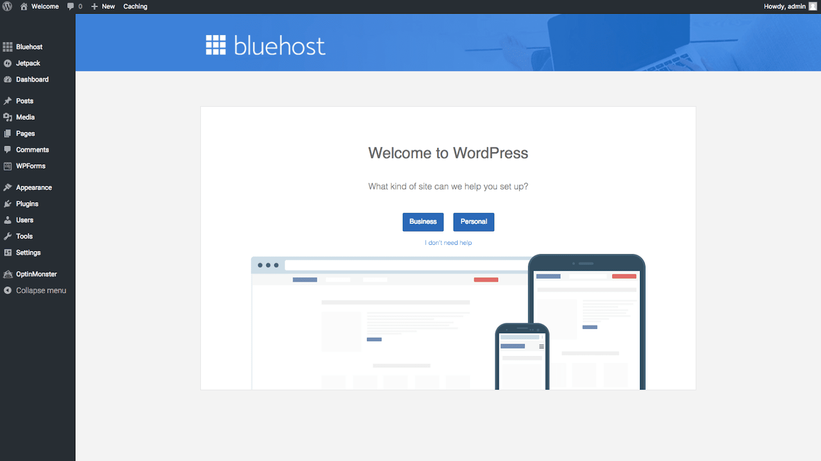 How To Start A Blog On BlueHost? Welcome To WordPress