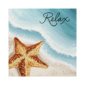 canvas painting design - Tranquil Surf