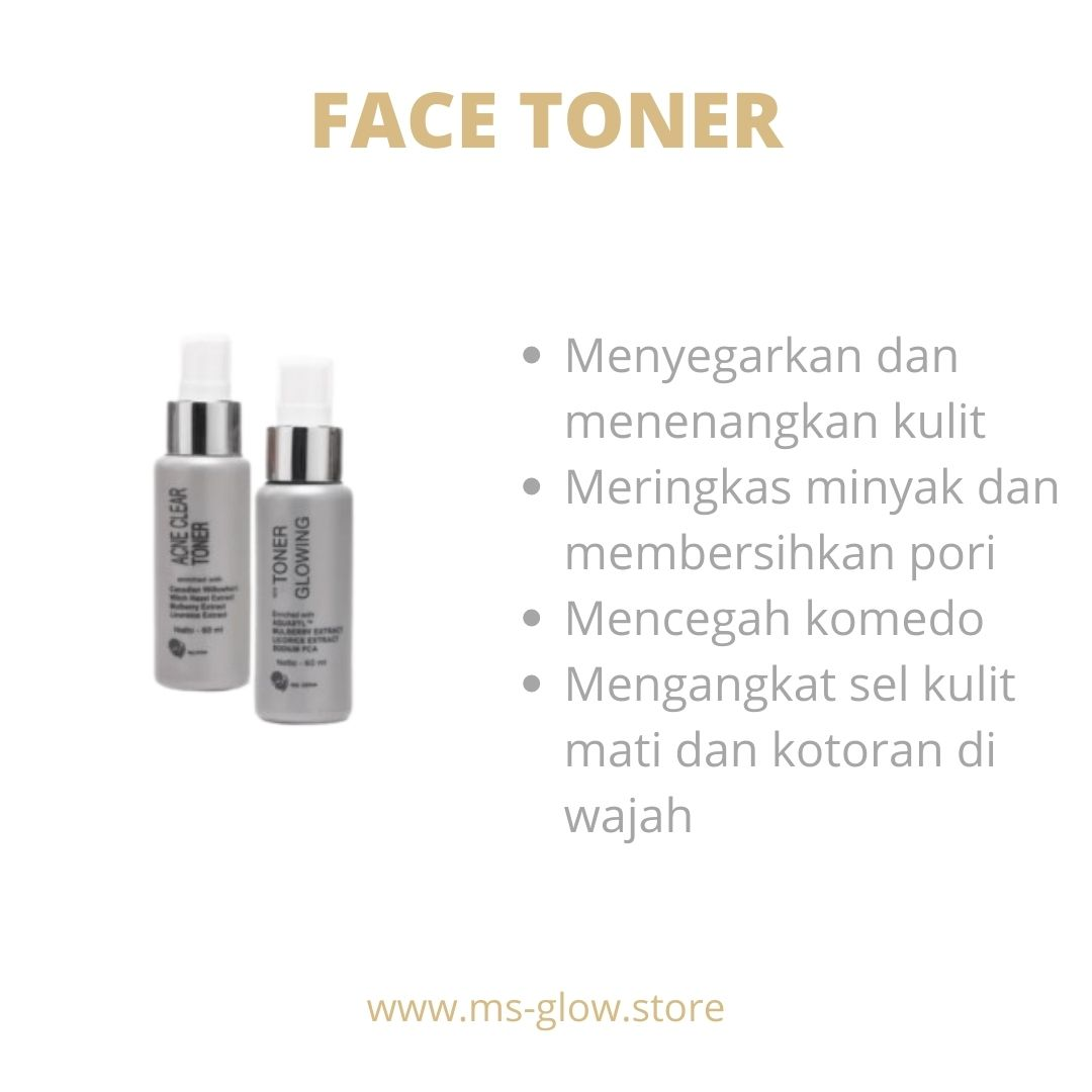 MS Glow Face Toner