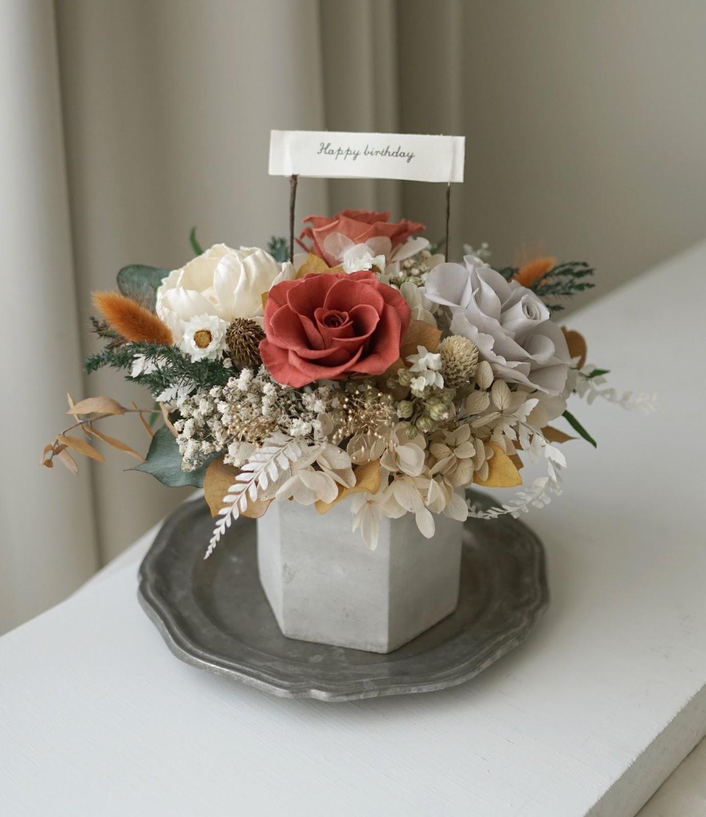 2021母親節 媽媽禮物 媽媽生日禮物 乾燥花束 訂做 康乃馨