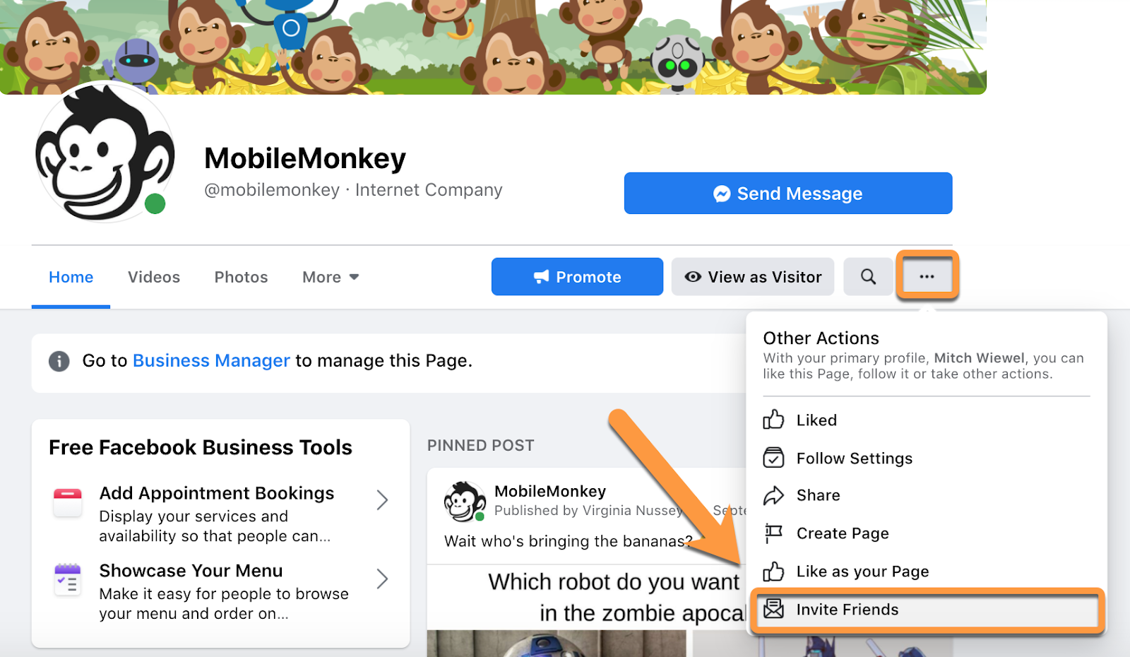 Building a Facebook business page