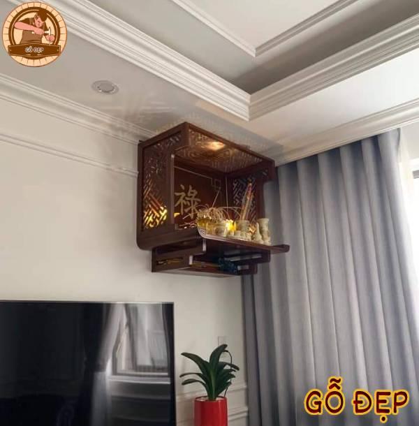 Vị trí nên chọn để đặt bàn thờ Phật trong nhà