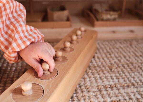 Montessori giúp trẻ phát triển trí tuệ