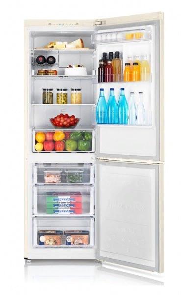 Внутренняя организация холодильника Samsung RB31FSRNDEF/UA