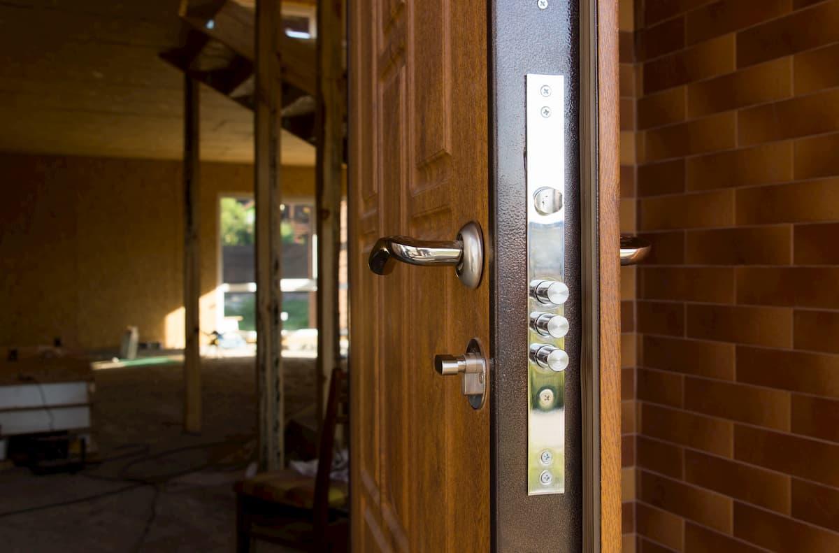 Mr. Handyman Anna front door installation