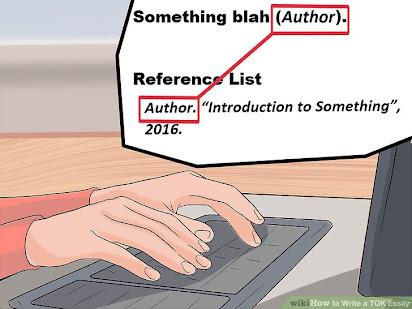 writing a tok essay