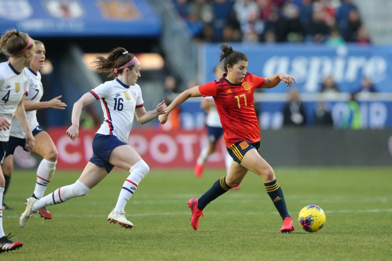 United States survive test from Spain 1-0 to keep winning streak ...