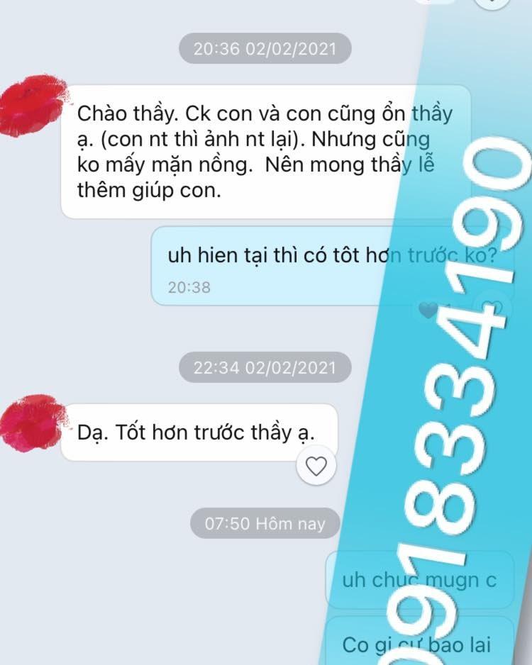 Phản hồi của người nhờ thầy làm bùa yêu Macau giúp