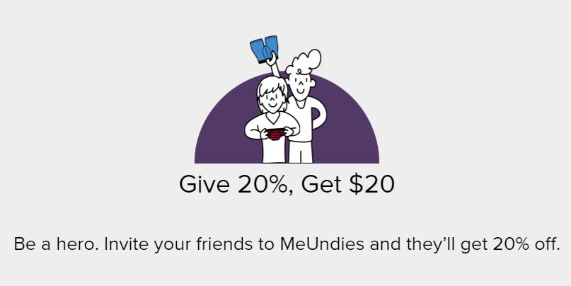 MeUndies email message