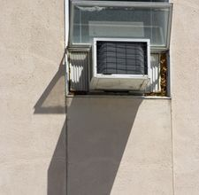 how direct sunlight affects the air conditioner