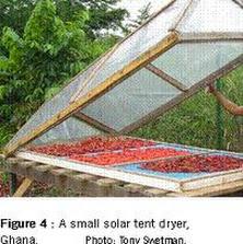 المجففات الشمسية