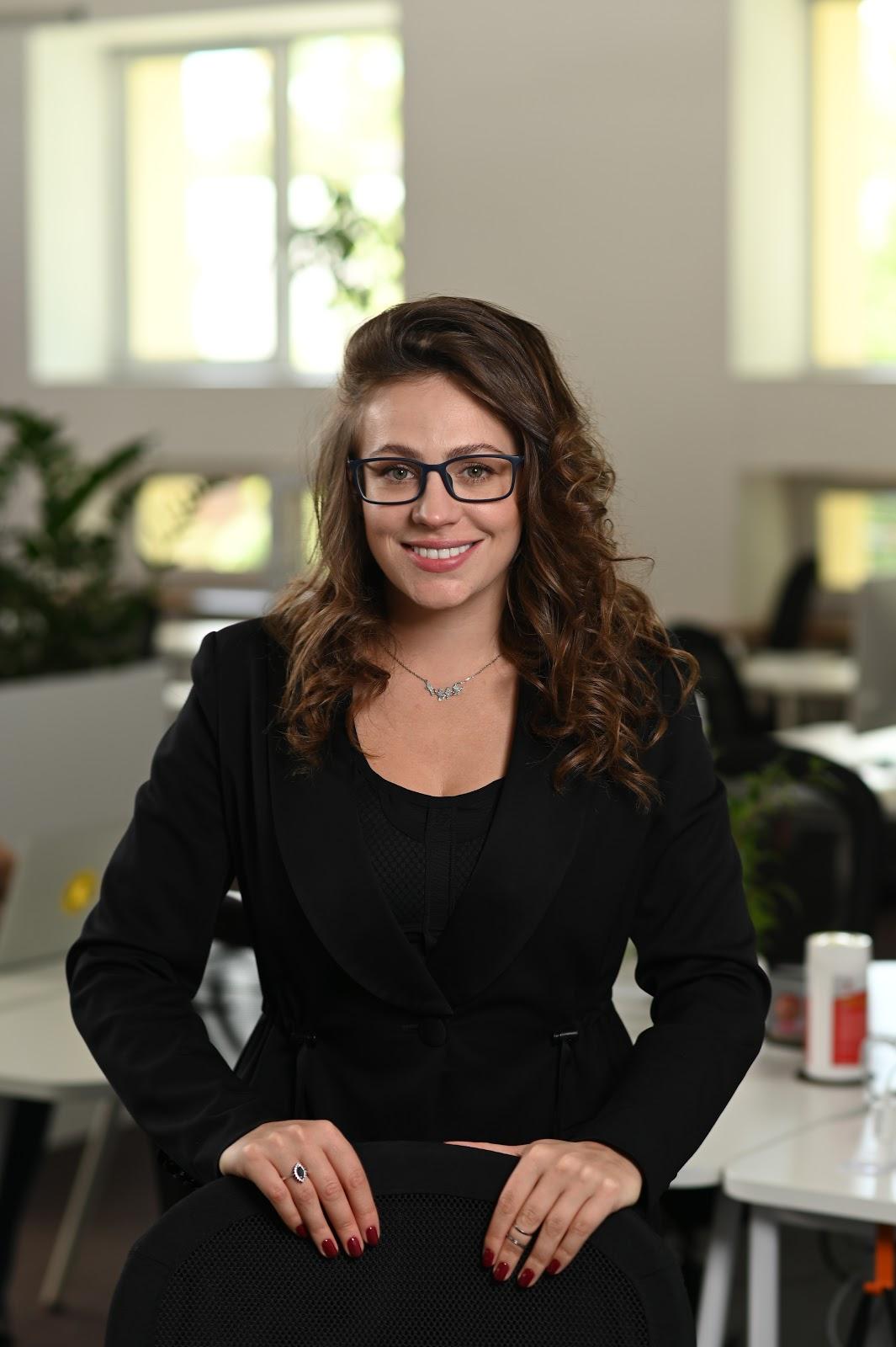 Daria Leschchenko CEO and partner of Supportyourapp headshot