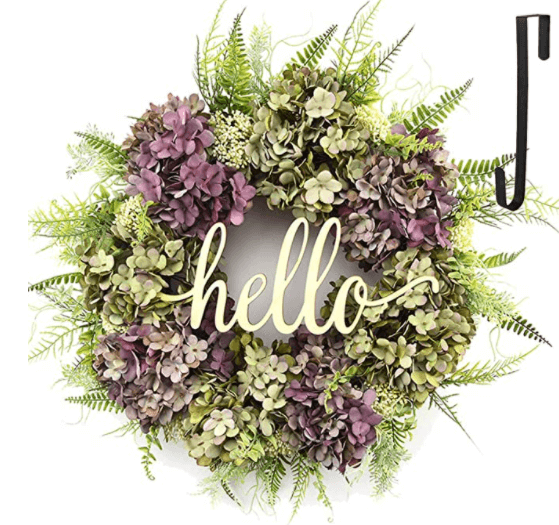 spring decorations ideas flower wreath