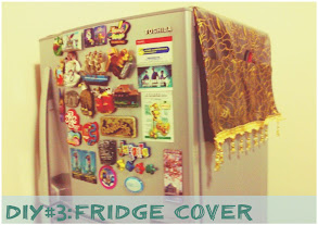 DIY:An Extremely Simple Fridge Cover