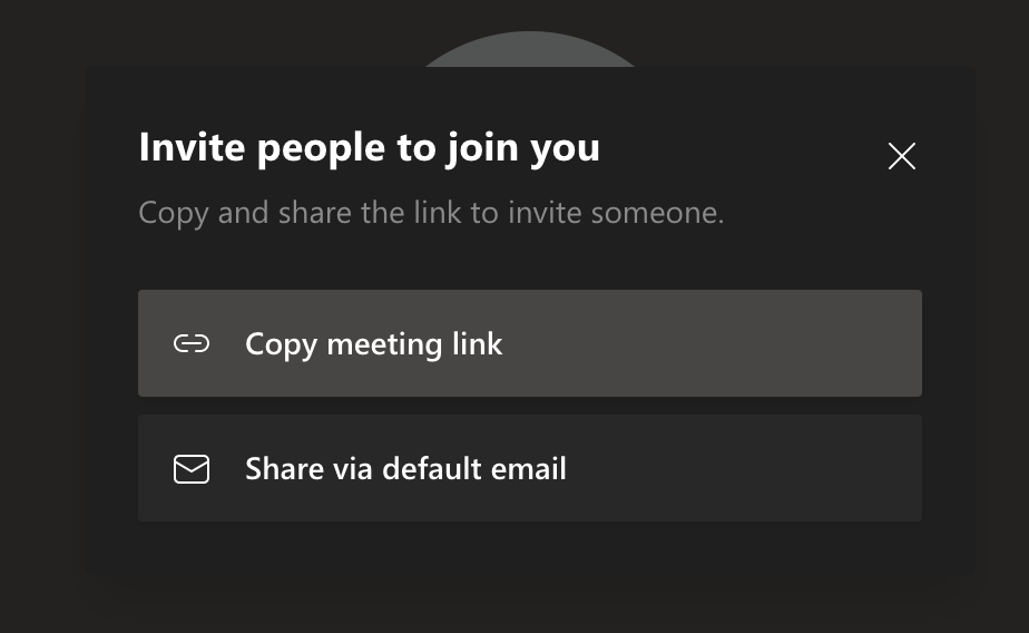 How to invite participants to Microsoft Teams video call
