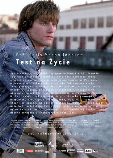 Tył ulotki filmu 'Test Na Życie'