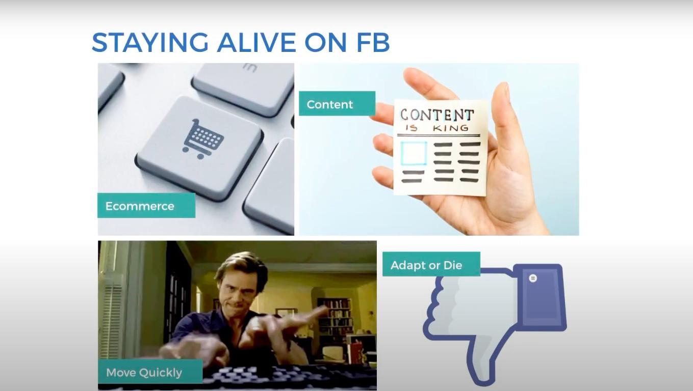 Адаптация к изменению в Facebook