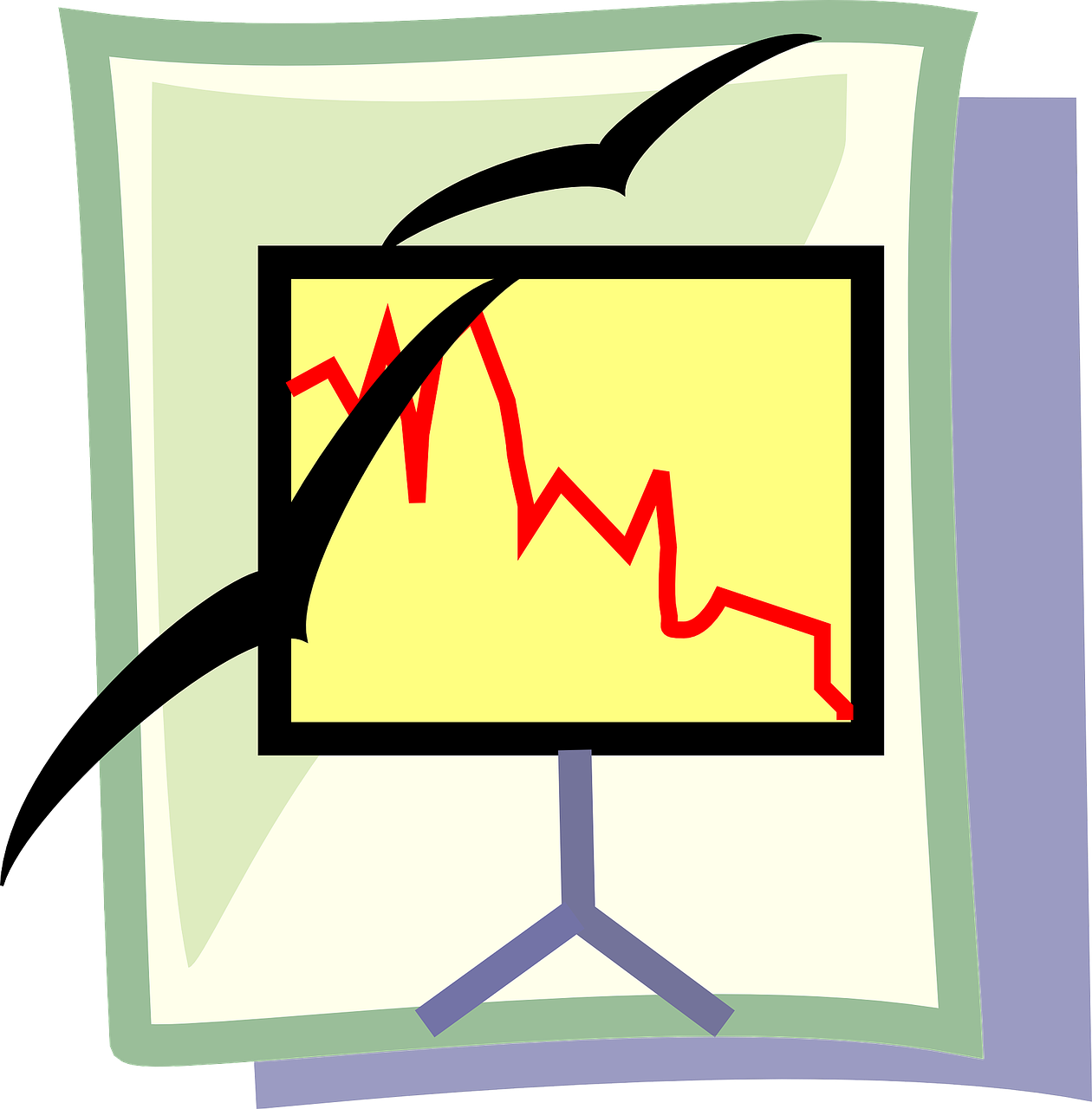 image of a line chart