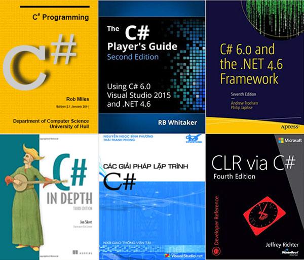6 cuốn sách khi học lập trình C# mà bạn không thể bỏ qua