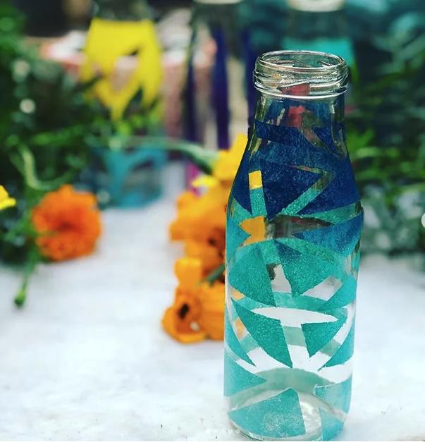 decoupage glass