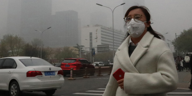 CHINA,POLLUTION,SMOG