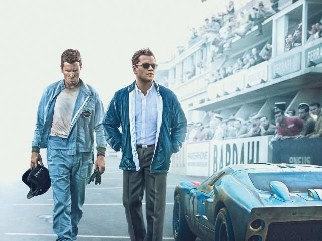 Christian Bale, Matt Damon, Ford v Ferrari